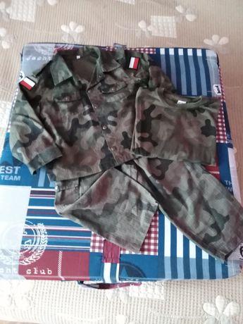 Moro wojskowe chłopięce +koszulka