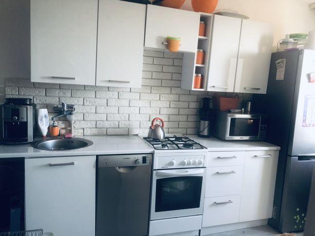 Meble kuchenne bialy polysk modulowe plus zlew