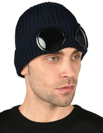 Лютая шапка C.P Company Си Пи Компани Сі Пі Компані  С линзами очками