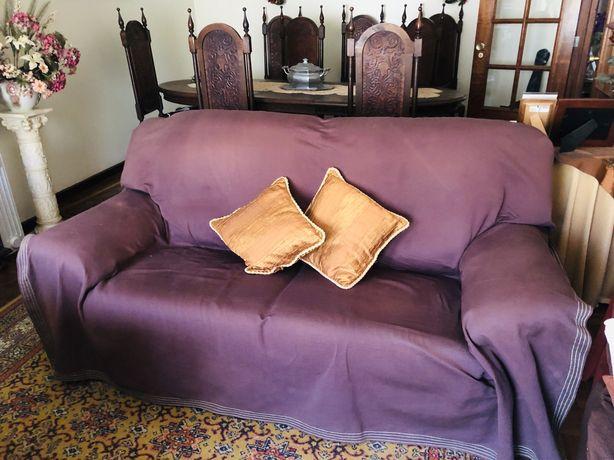 Sofá cama de 3 lugares + 1 sofá de 1 lugar