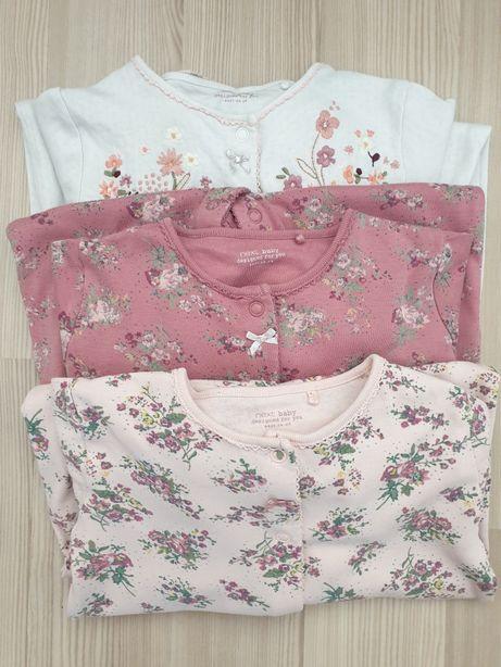 Pajacyk piżamka komplet Next 3 szt. Rozmiar 80/86