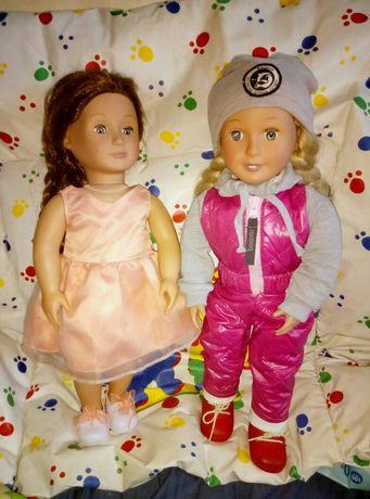 Две оригинальные куклы американской фирмы Battat,клеймо.