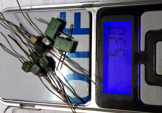 Продам керамические конденсаторы старого образца