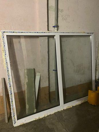 Продам металло-пластиковый балконный блок
