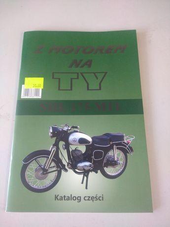 Książka katalog części SHL M11 M11W
