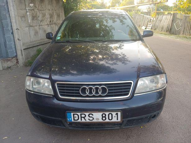 Audi a6 на бляхах