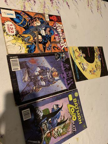 Stare komiksy punisher batman przygody Jonki