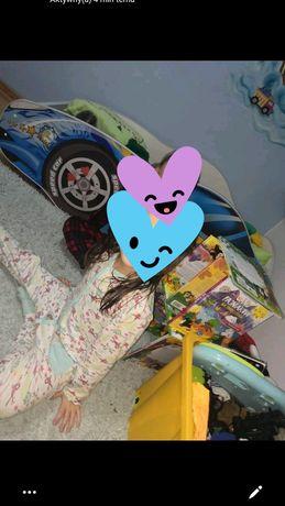 Łóżko autko dla chłopca