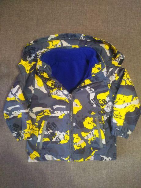 Ветровка 2в1 , куртка на мальчика