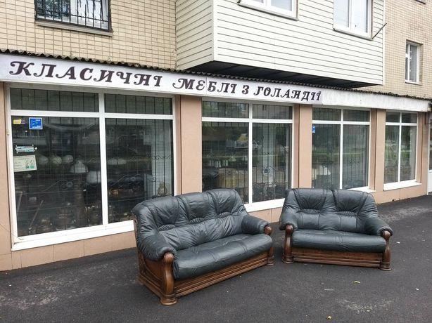 Кожаный диван, шкіряний диван, меблі з Європи