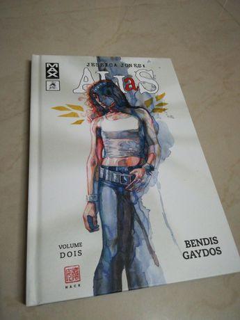Livro Banda Desenhada Comic Alias vol. 2 - Marvel