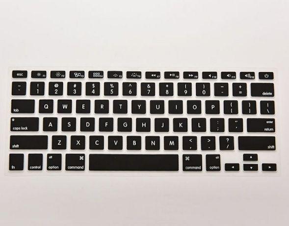 Захисні накладки для клавіатури ноутбуків Macbook