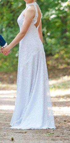 Biała Suknia ślubna GALA HELVIA