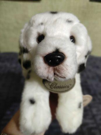 Мягкая игрушка щенок далматин далматинец 27 см