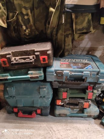 Pudełko Bosch Makita walizka