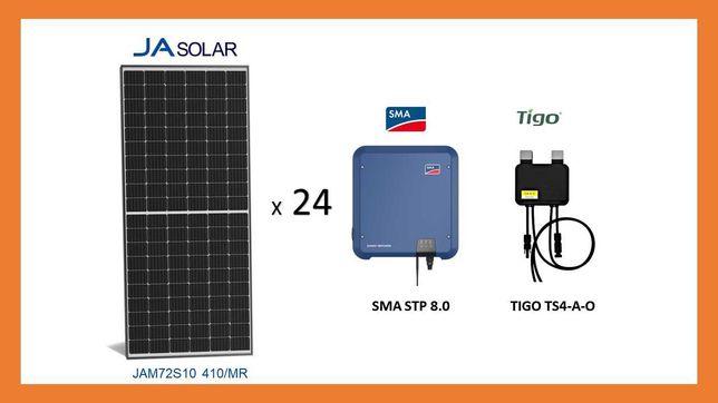 Instalacja Fotowoltaiczna 10 KWP z MONTAŻEM ! JA Solar , Sma , Tigo