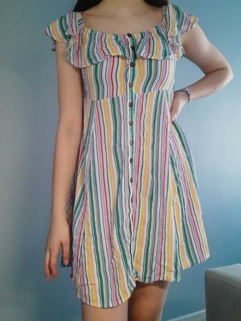 Letnia sukienka kolorowa