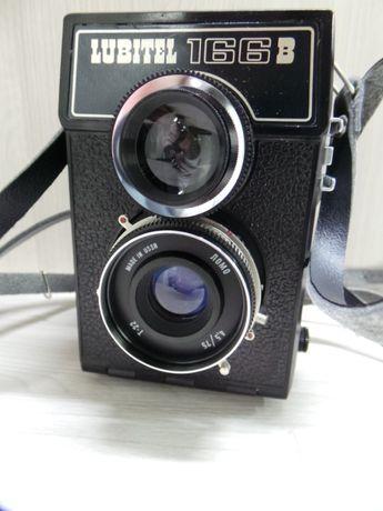 Aparat Lubitel 166B z futerałem lustrzanka