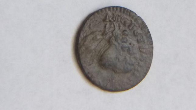**S POLSKA, Szeląg koronny August III Sas 1753