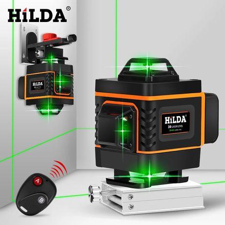 Hilda 16 линий 4D лазерный уровень нивелир