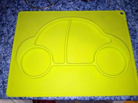 Talerz silikonowy auto