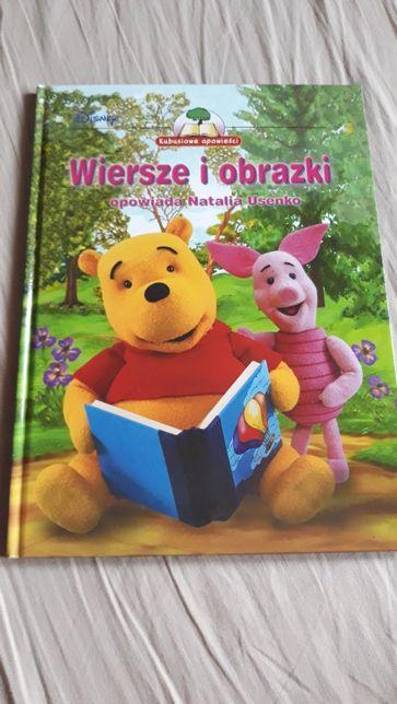 książka Disney,bdb,A4. Kubusiowe opowieści.Wiersze i obrazki.Puchatek