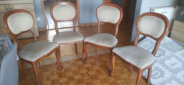 Krzesła gięte ludwiki