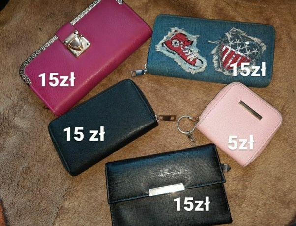 Sprzedam portfele widoczne na zdjęciach