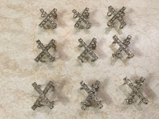 фурнитура-Комплект украшения для рукоделия(9шт)