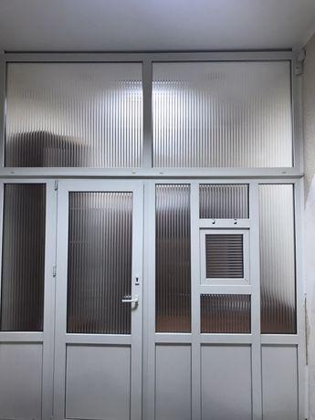 Двері пластикові - перестінок