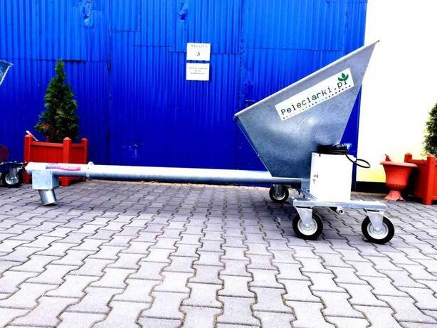 Żmijka do Zboża ziarna 1,5 kW Podajnik Ślimakowy + Falownik + kółka