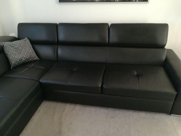 Sofa, narożnik ekoskóra