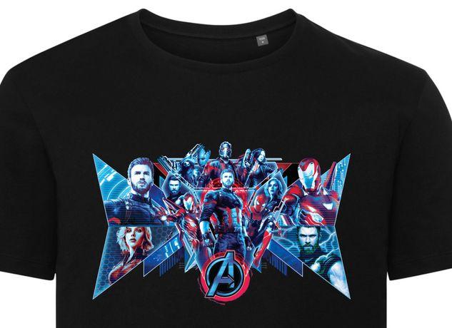 Marvel Koszulka Avengers [różne wzory] Thanos & Captain S-XXXL