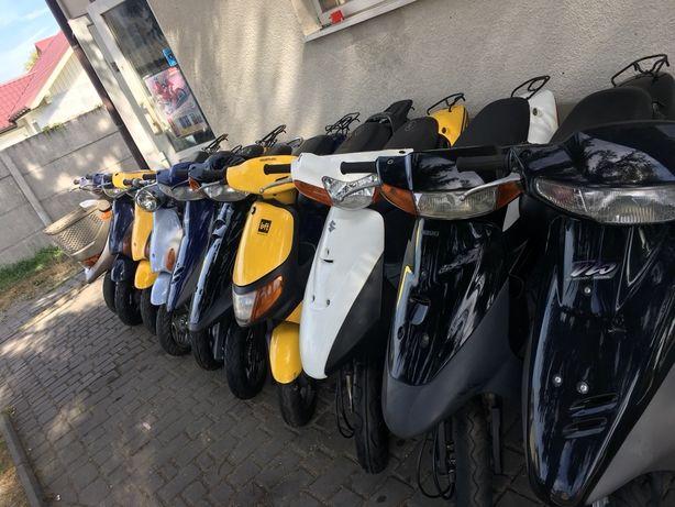 Продаж скутерів без пробігу по Україні(Honda Suzuki)за доступною ціною