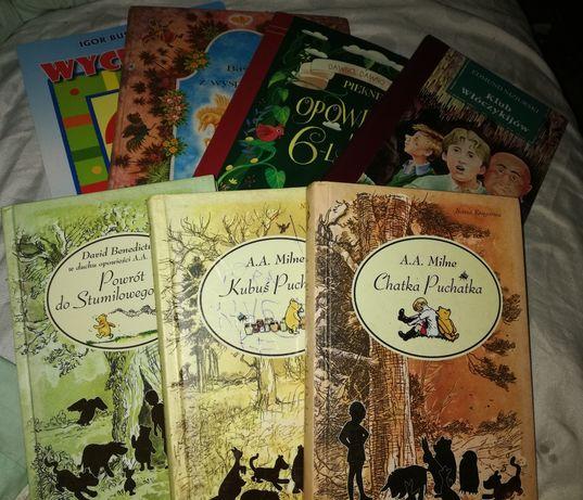 Książki bajki 7szt