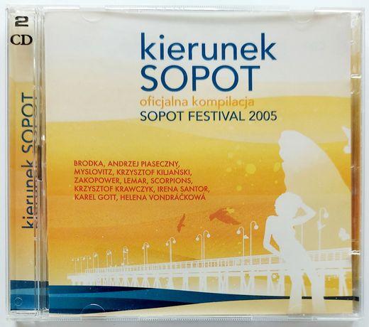 Sopot Festival 2005r Kierunek Sopot 2CD 2005r Brodka Reni Jusis Gazebo