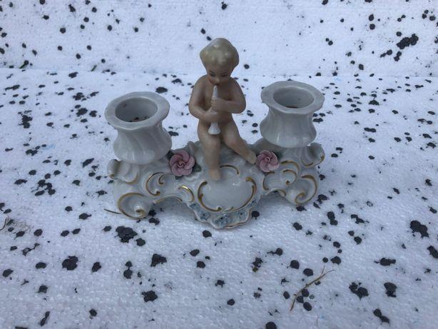 świecznik porcelanowy Walendorf