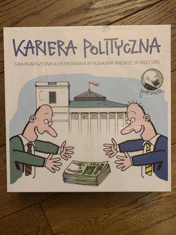 Nowa gra planszowa Kariera Polityczna z rysunkami Andrzeja Mleczki