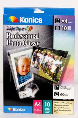 Papel fotográfico profissional 300g A4  Konica