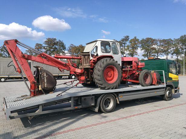 Transport ciągnika traktora wózka pomoc drogowa autolaweta do 7 ton