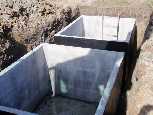 Szambo betonowe zbiorniki szamba na gnojowicę ścieki deszczówkę 6 8 10