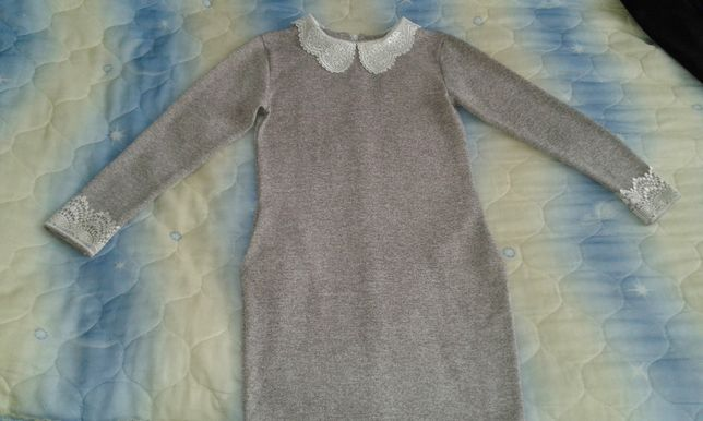 Платье школьное на девочку 11-13 лет