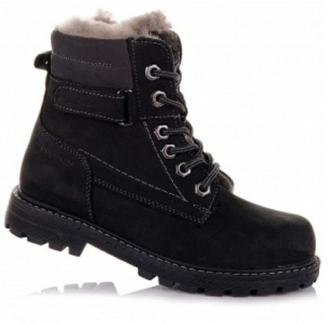 Супер цена!!! Новые нубуковые зимние ботинки Tutubi, 37р (24)