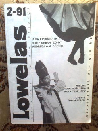 Lowelas miesięcznik 2/91 (Urban. Waligurski)