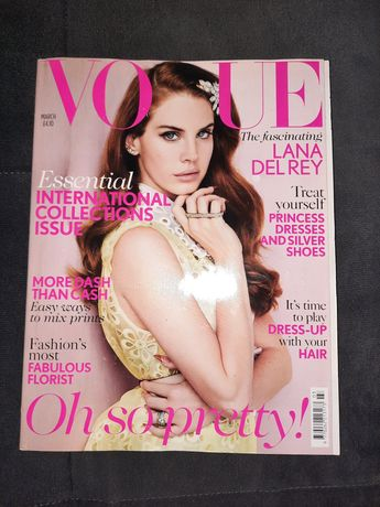 Vouge UK marzec 2012 Lana del Rey