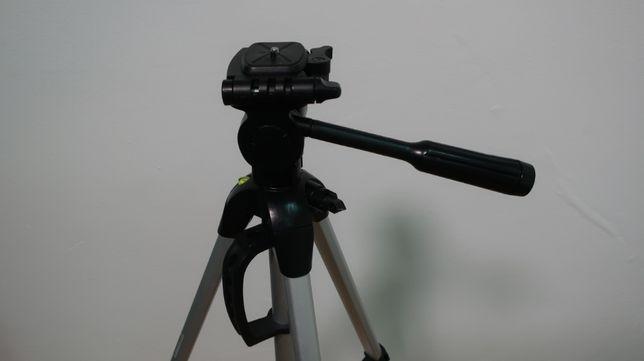 Statyw fotograficzny 127 cm wys., poziomica, pokrowiec