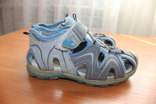 Босоножки сандалии 26 -27 размер мальчику