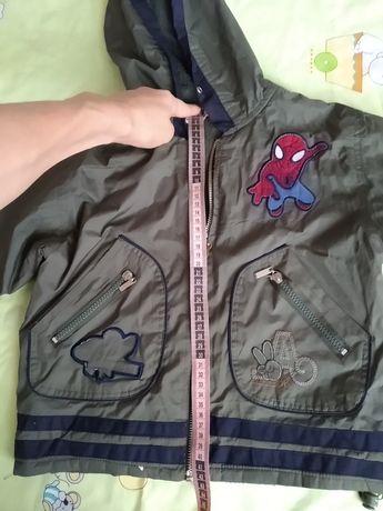 Куртка 86 92 104 116р. весеняя теплая одежда детская ребенка мальчика