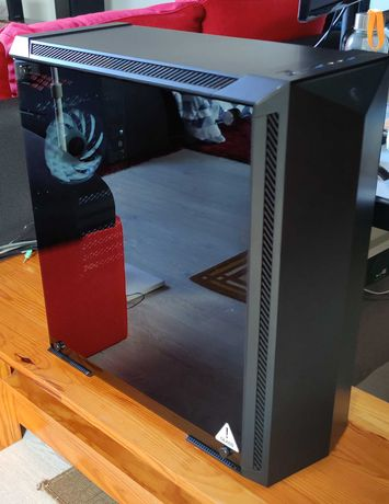 Caixa MSI Gungnir 100 RGB + PSU Nox Hummer X750W