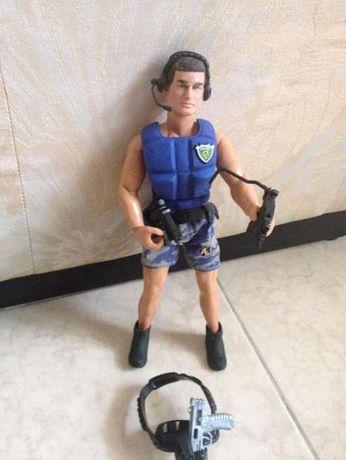 Action Man police, Hasbro international, inc de 1993, autêntico